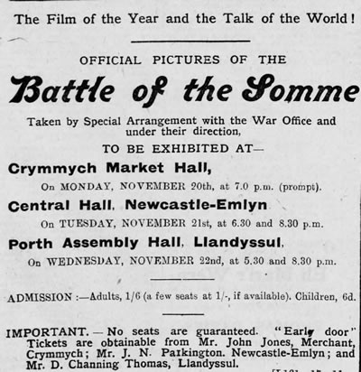 Battle of the Somme poster